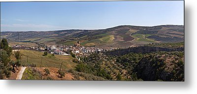 Malaga Province, Andalucia, Spain Metal Print by Panoramic Images