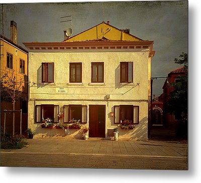 Malamocco House No1 Metal Print