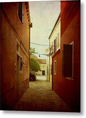 Metal Print featuring the photograph Malamocco Perspective No2 by Anne Kotan