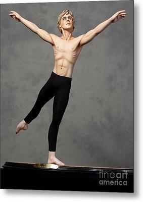 Male Dancer Metal Print by Vickie Arentz