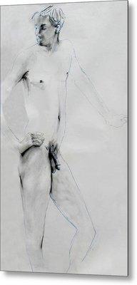 Male Nude 4803 Metal Print