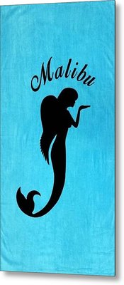 Malibu Mer Angels  Metal Print by Chrystyna Wolford