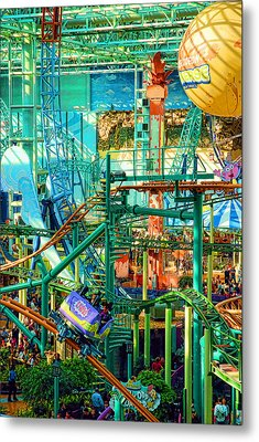 Mall Of America Metal Print by Rich Beer