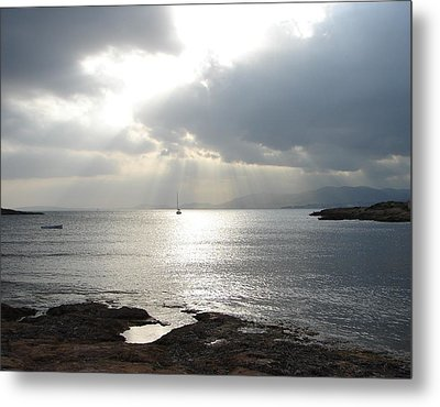 Metal Print featuring the photograph Mallorca by Ana Maria Edulescu