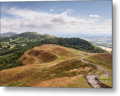 Metal Print featuring the photograph Malvern Hills by Colin and Linda McKie