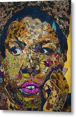 Mama's Watching Metal Print by Apanaki Temitayo M