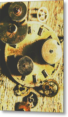 Man Made Time Metal Print