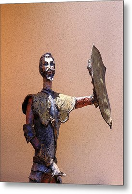 Man Of La Mancha Metal Print by Viktor Savchenko