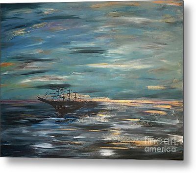 Man Overboard Part One Metal Print by Heather McKenzie
