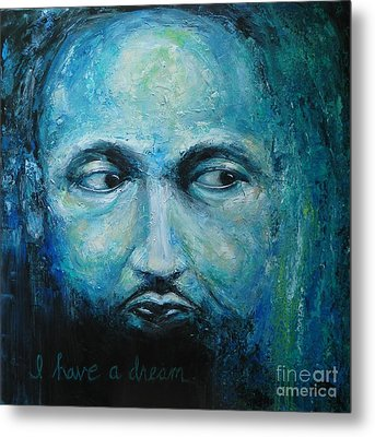 Man With A Dream Metal Print by Dan Campbell