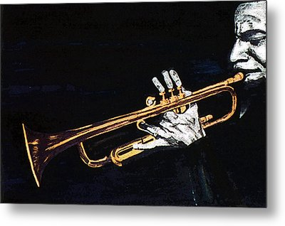 Man With The Horn -  Skip Martin   Metal Print