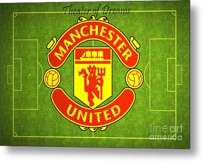 Manchester United Theater Of Dreams Large Canvas Art, Canvas Print, Large Art, Large Wall Decor Metal Print