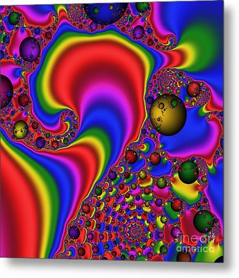 Mandala 165 Metal Print by Rolf Bertram