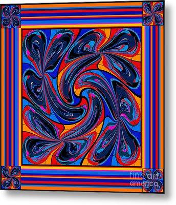 Mandala #3 Metal Print