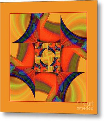 Mandala #56 Metal Print by Loko Suederdiek