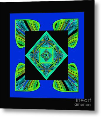 Mandala #6 Metal Print by Loko Suederdiek