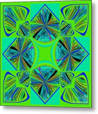 Mandala #7 Metal Print by Loko Suederdiek