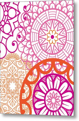 Mandala Decorative Art Metal Print