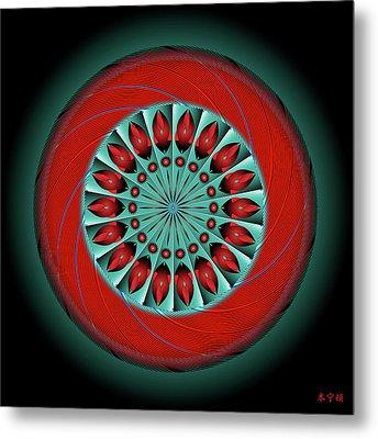 Mandala No. 20 Metal Print