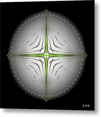 Mandala No. 44 Metal Print