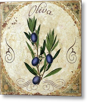 Mangia Olives Metal Print by Mindy Sommers