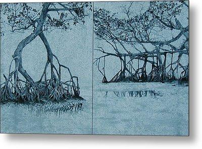 Mangroves Metal Print by Leah  Tomaino