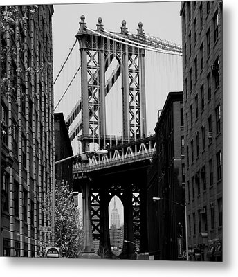 Manhattan Empire Metal Print by Andrew Fare