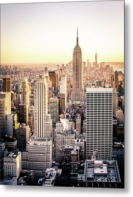 Manhattan Metal Print by Michael Weber