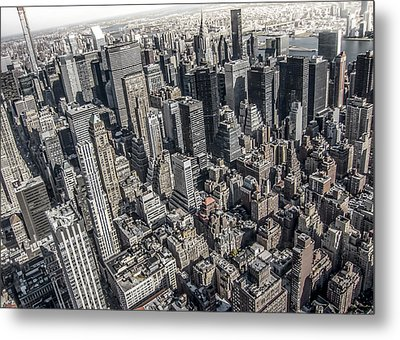 Manhattan Metal Print by Nicklas Gustafsson