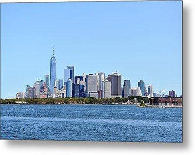 Manhattan Skyline 1 Metal Print