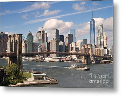 Manhattan Skyline Metal Print by Bryan Attewell