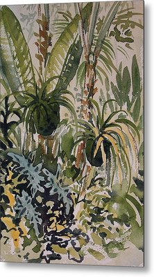 Manito Greenhouse Metal Print