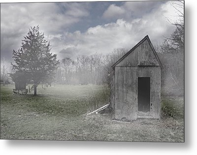 Manor Road Farm Metal Print by Tom Romeo