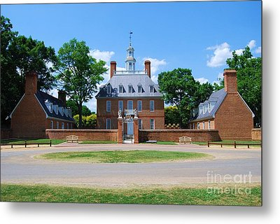 Metal Print featuring the photograph Mansion by Eric Liller