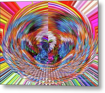Many Colors Of Love  Metal Print