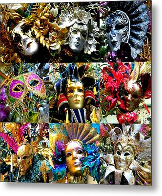 Metal Print featuring the photograph Many Faces by Amanda Eberly-Kudamik