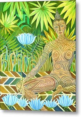 Maori Tara  Metal Print by Jennifer Baird