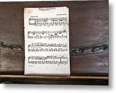 Maple Leaf Rag Metal Print by Leland D Howard