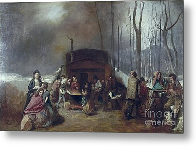 Maple Syrup, C1865 Metal Print by Granger