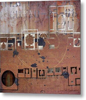 Maps #19 Metal Print