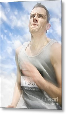 Marathon Motions Metal Print by Jorgo Photography - Wall Art Gallery
