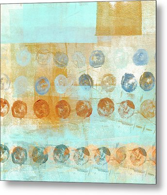 Marbles Found Number 2 Metal Print by Carol Leigh