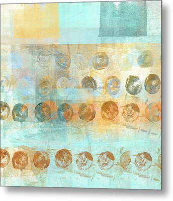 Marbles Found Number 3 Metal Print by Carol Leigh