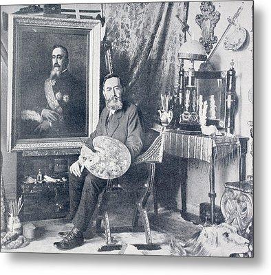 Marceliano Santa Mar A, 1866 - 1952 Metal Print