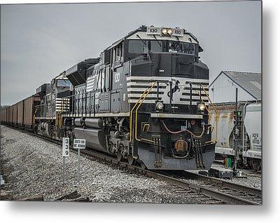 March 18. 2015 - Norfolk Southern Loaded Coal Train Ndn-1 Metal Print by Jim Pearson