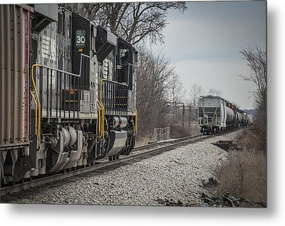 March 18. 2015 - Norfolk Southern's Loaded Coal Train Ndn-1 Metal Print by Jim Pearson
