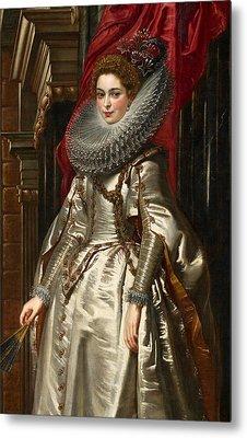Marchesa Brigida Spinola Doria Metal Print by Peter Paul Rubens