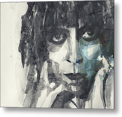 Metal Print featuring the painting Marchesa Casati  by Paul Lovering