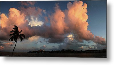 Marco Island Summer Evening Metal Print by Carol Kinkead