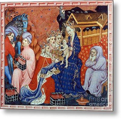 Marco Polo (1254-1324) Metal Print by Granger